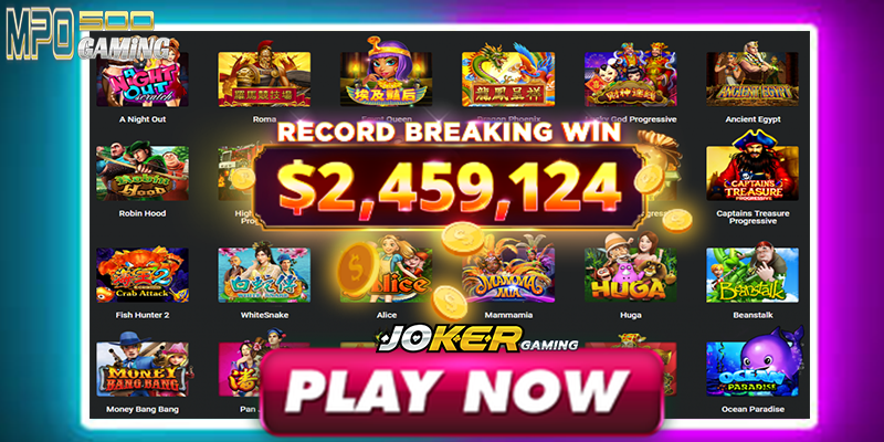 Benefit Bermain Slot Online Joker Gaming